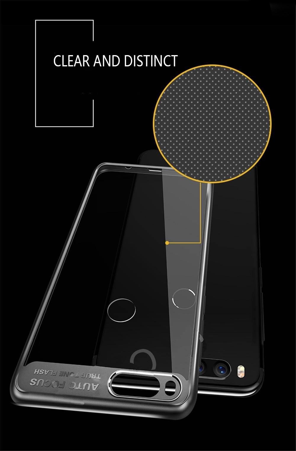 Vaku 174 Xiaomi Mi A1 Kowloon Series Top Quality Soft Silicone 4 Frames Ultra Thin Transparent