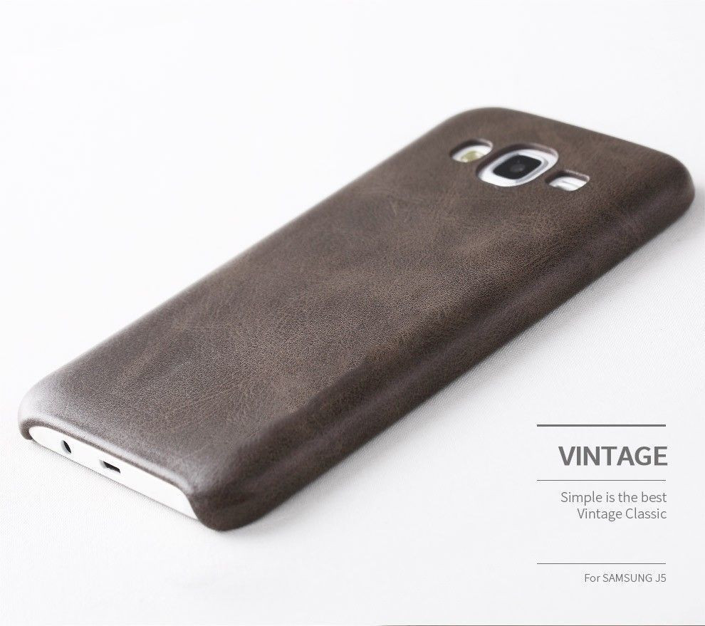 meet c463a 7334a Usams ® Samsung Galaxy J7 (2015) Ultra-thin Elegant Grained Leather Case  Back Cover