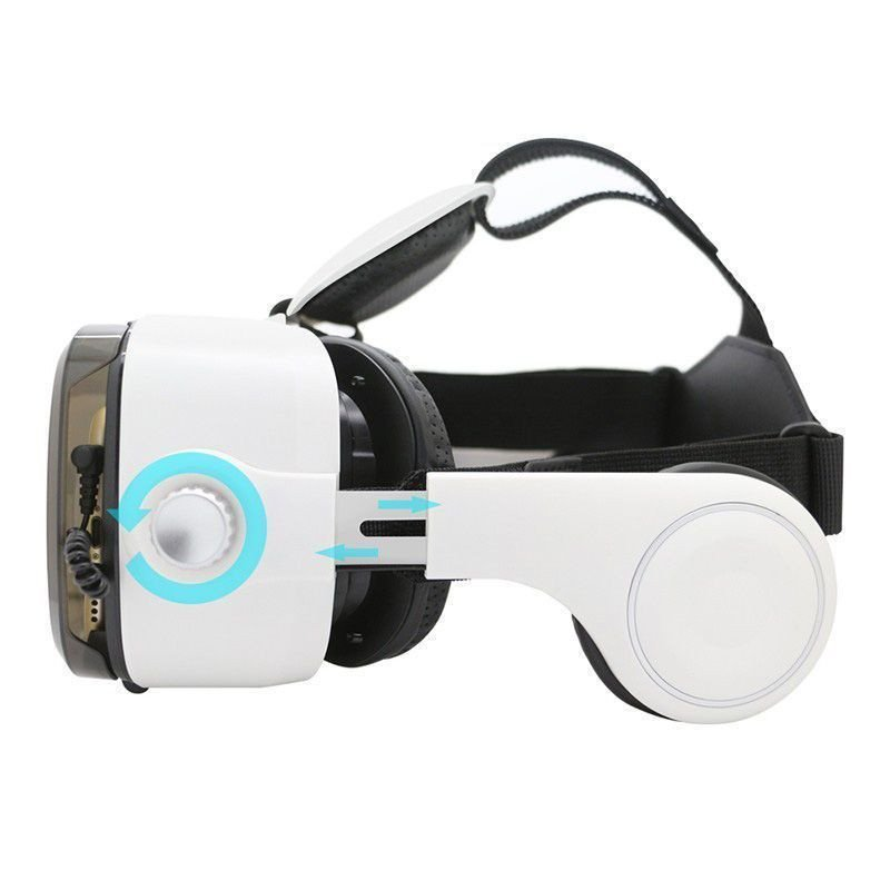 BOBO VR Version 3D Virtual Reality VR Glasses Headset With HeadPhone Smart Phone 3D Private ...
