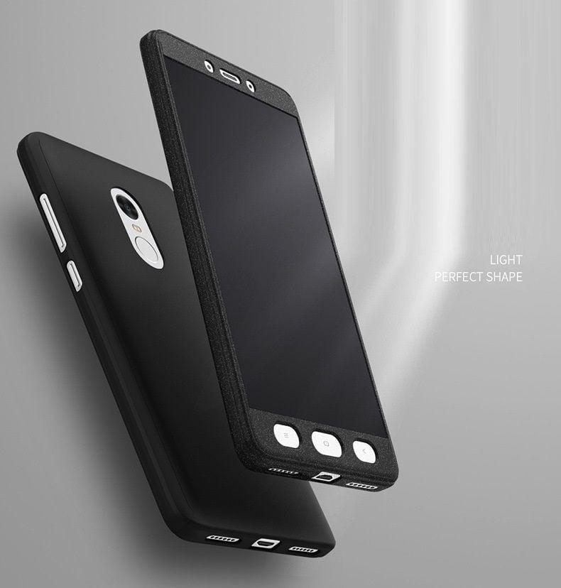 nuovi stili 32fb9 b4383 NKS ® Xiaomi Redmi Note 4 360 Full Protection Tempered + Front + Back Case