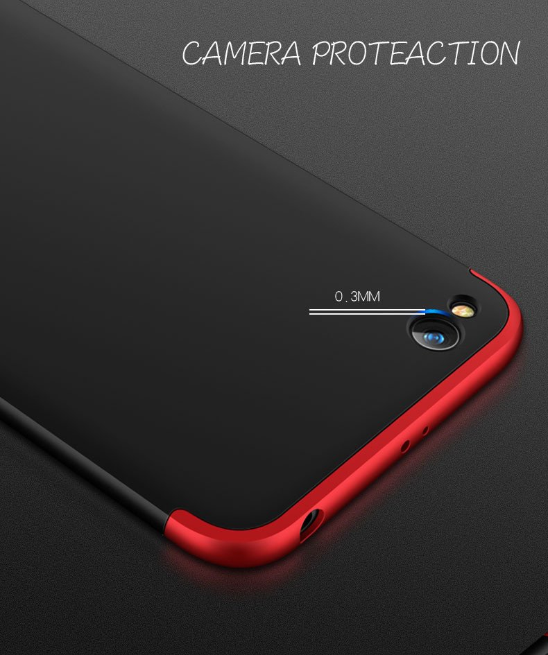 huge selection of ae763 45228 FCK ® Xiaomi Redmi 5A 5-in-1 360 Series PC Case Dual-Colour Finish  Ultra-thin Slim Front Case + Back Cover
