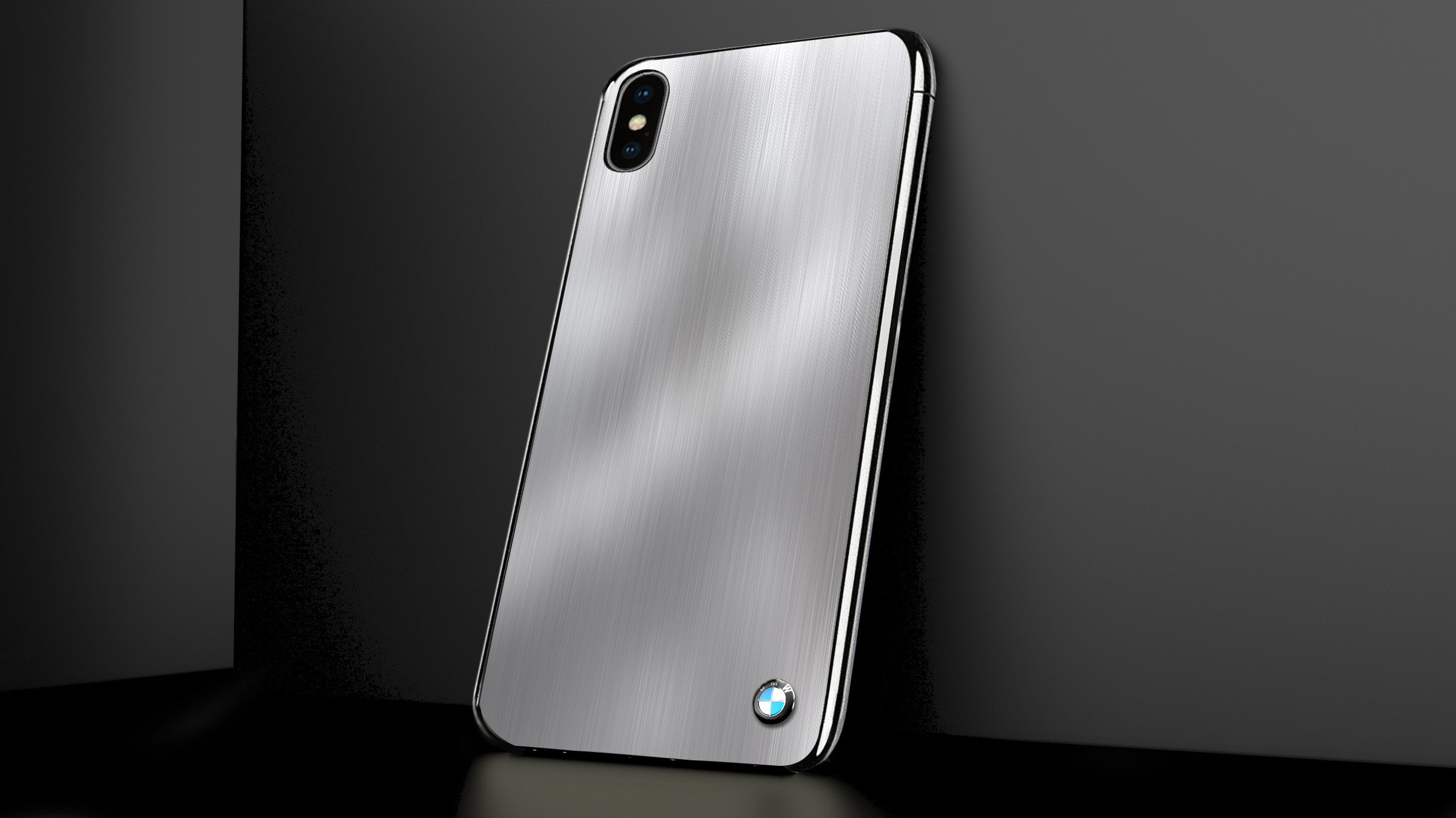 Bmw 174 Apple Iphone X 7 Series Steel Edition Luxurious Metal Case Limited Edition Back Cover