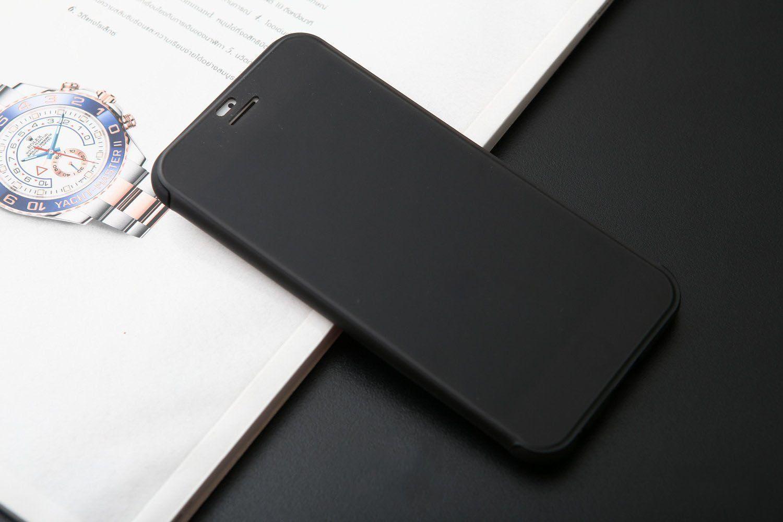 half off 30e69 8afa3 Rock ® Apple iPhone 6 Plus / 6S Plus DR.Vaku Invisible SmartView  Translucent Touch Case Flip Cover