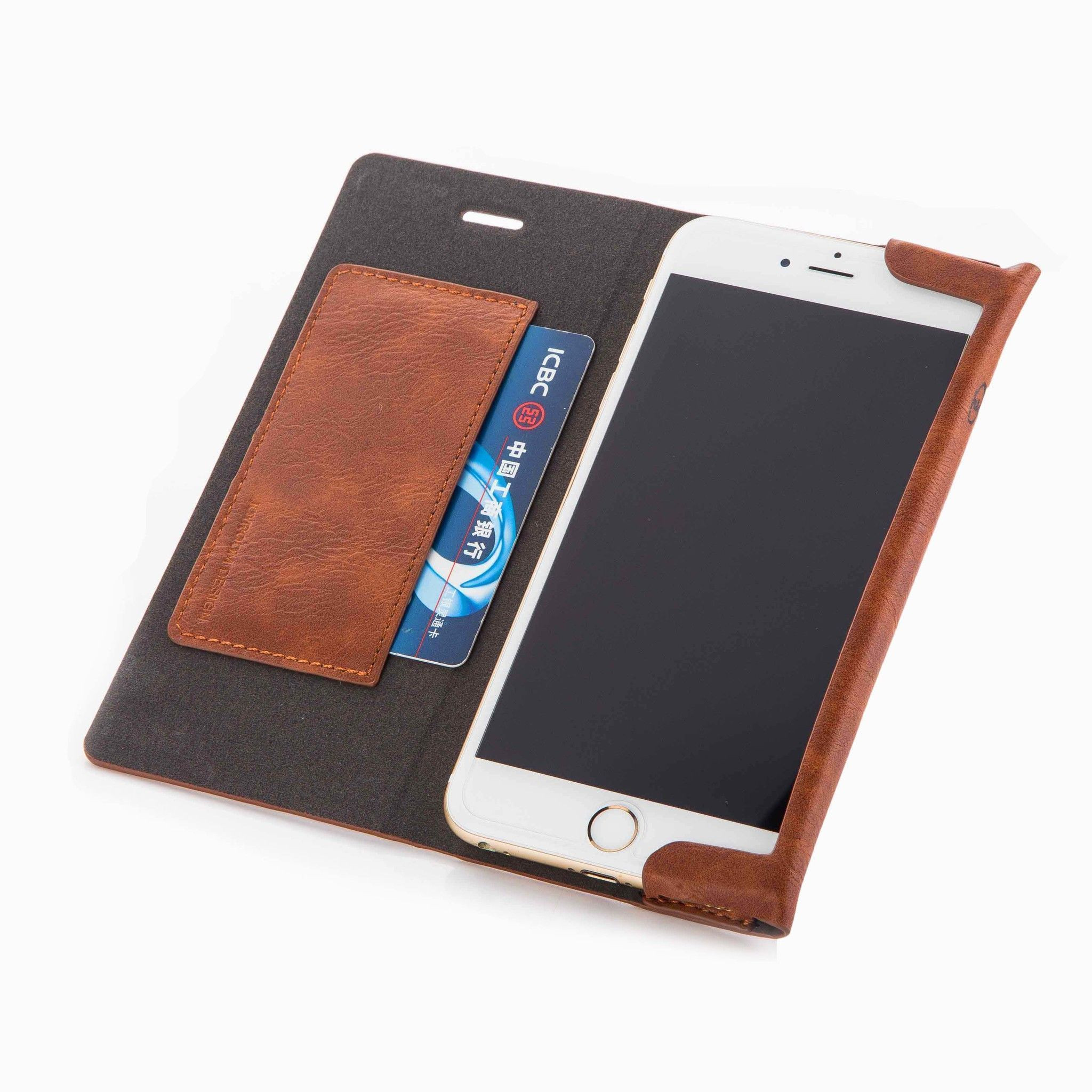reputable site 32814 51f09 Joyroom ® Apple iPhone 6 Plus / 6S Plus England Folio with Stand + Credit  Card Slot Magnetic Flip Cover