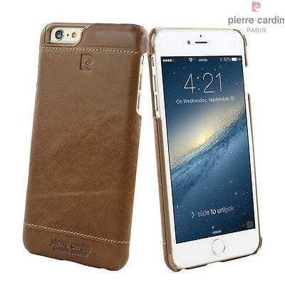 size 40 3d95f fe582 Pierre Cardin ® Apple iPhone 5 / 5S / SE Paris Design Premium Leather Case  Back Cover