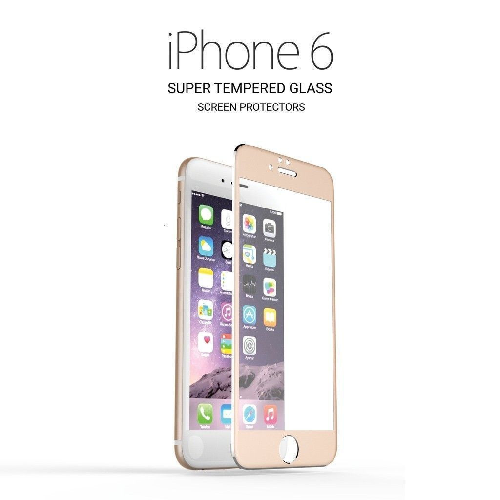 3d full protection 9h hardness titanium alloy tempered glass screen protector for apple. Black Bedroom Furniture Sets. Home Design Ideas