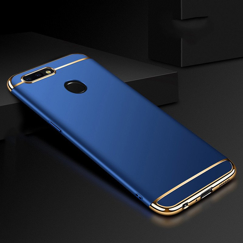 outlet store 03565 4ce2f Vaku ® OnePlus 5T Ling Series Ultra-thin Metal Electroplating Splicing PC  Back Cover