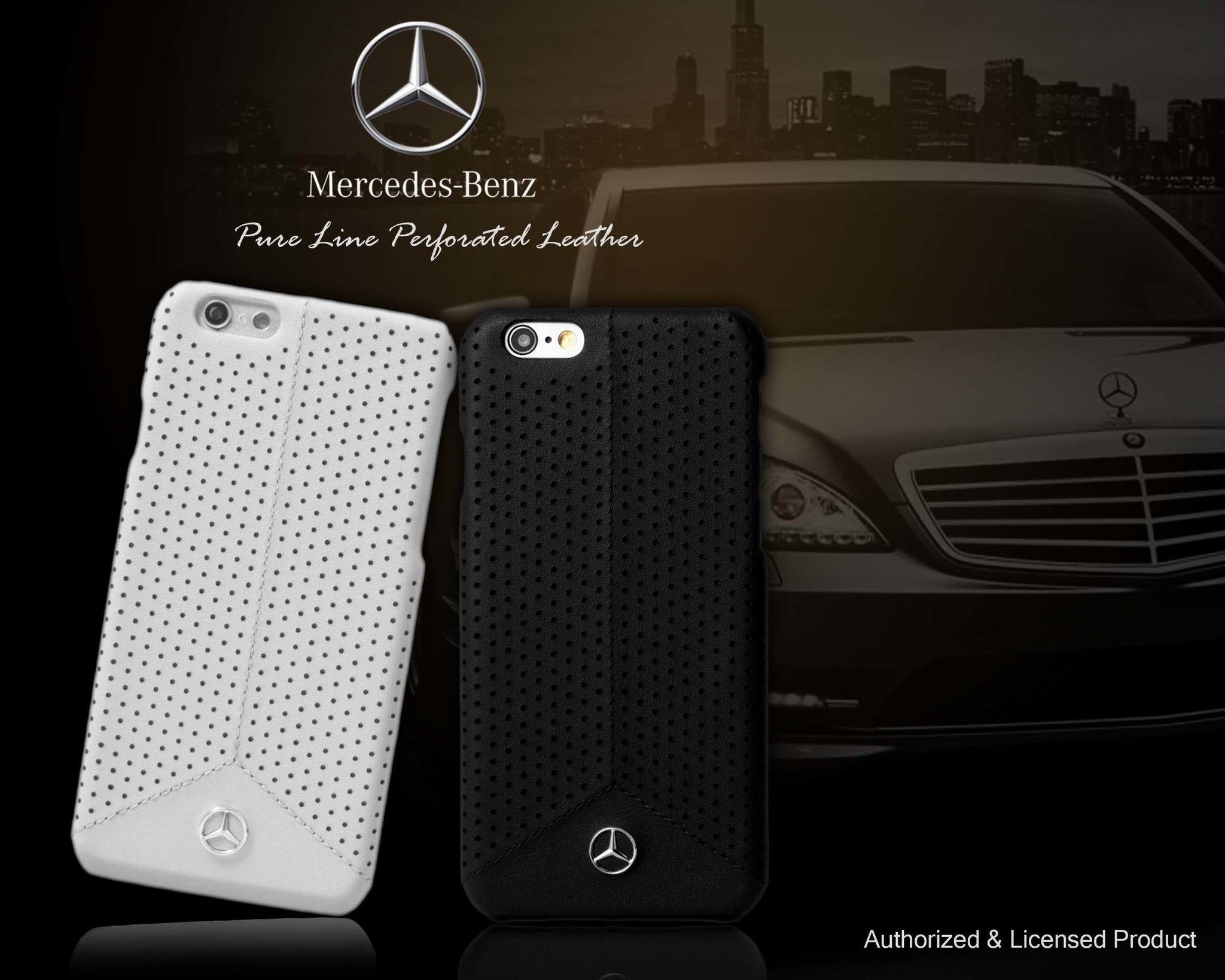 Mercedes Benz 174 Apple Iphone 6 6s Pure Line Perforated