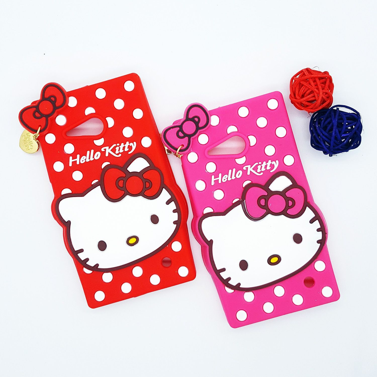 Hello Kitty Squishy Carrying Case : Cute Cases    4D Hello Kitty Design Ultra-Soft Gel Silicon Mobile Case + Kitty Pendant - Screen ...
