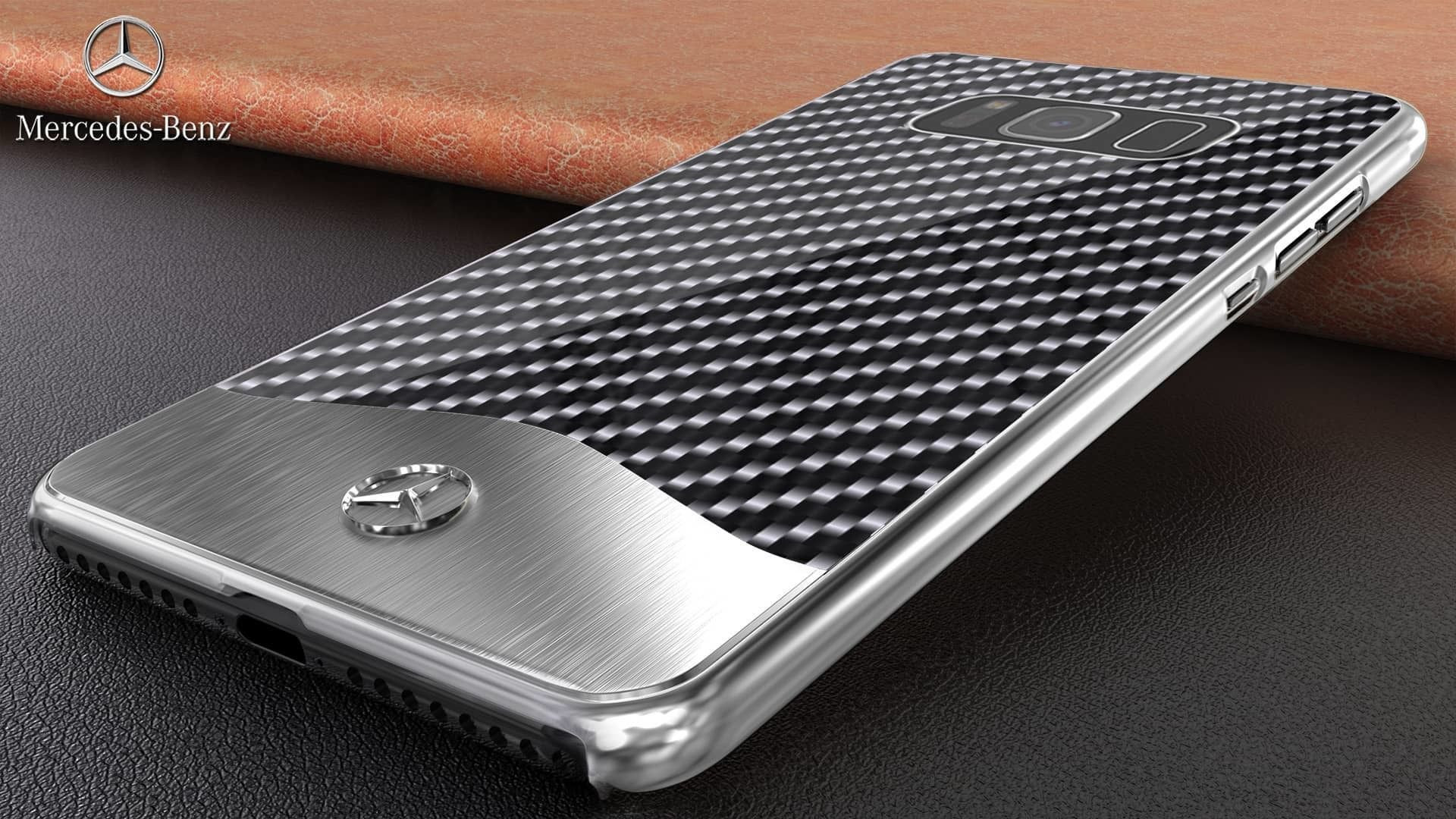timeless design 170ed 46890 Mercedes Benz ® Samsung Galaxy S8 Plus SLR McLaren Carbon Fibre (Limited  Edition) Electroplated Metal Hard Case Back Cover