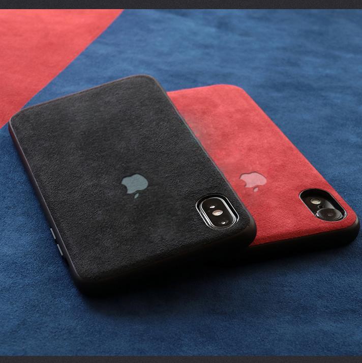 Vaku 174 Apple Iphone X Xs Alcantara Super Suede Logo