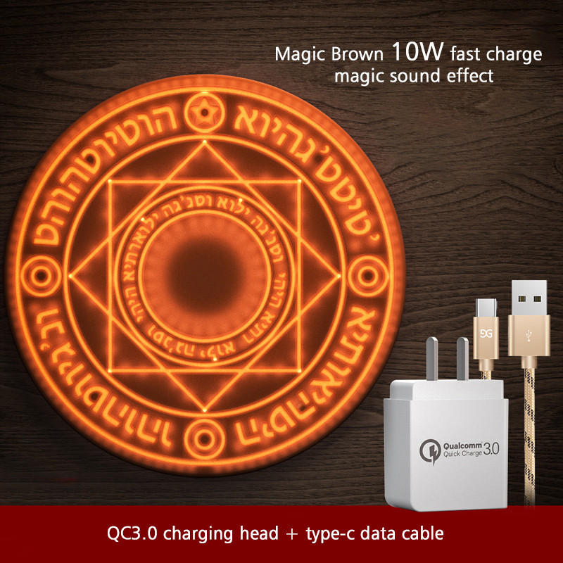 VAKU ® Magic Optical-array Wireless Charger With lucky Feng-Sui Designing
