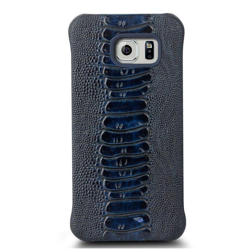 the best attitude 2a71d 912b3 Qialino ® Samsung Galaxy S6 Edge Jurassic Design Premium Leather Case Back  Cover