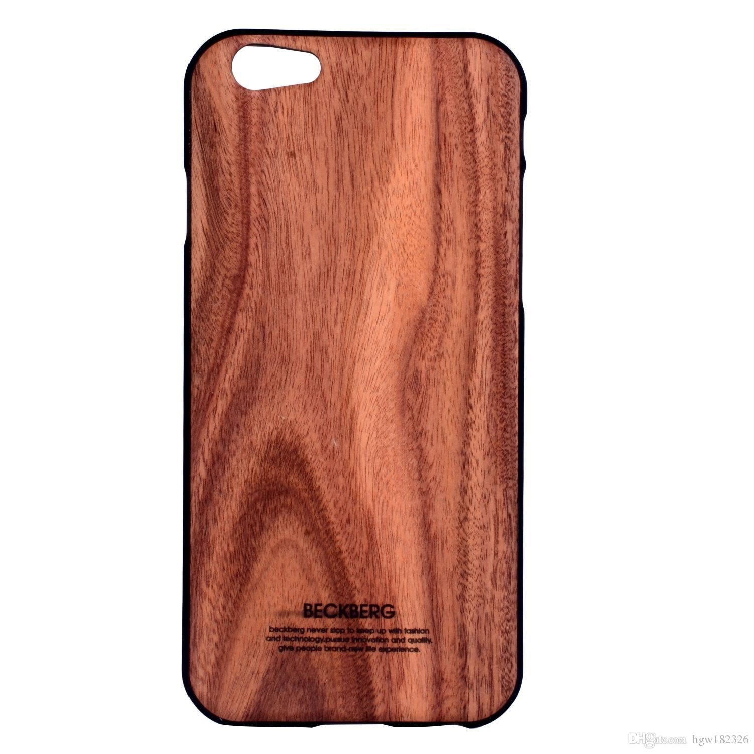 promo code 0621b 41d49 Beckberg ® Apple iPhone 6 / 6S Rainforest Wood Series Protective Case Back  Cover
