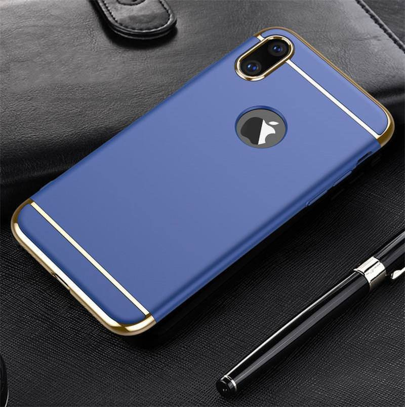 quality design 734cc baff6 Vaku ® Xiaomi Redmi 6 Pro Ling Series Ultra-thin Metal Electroplating  Splicing PC Back Cover