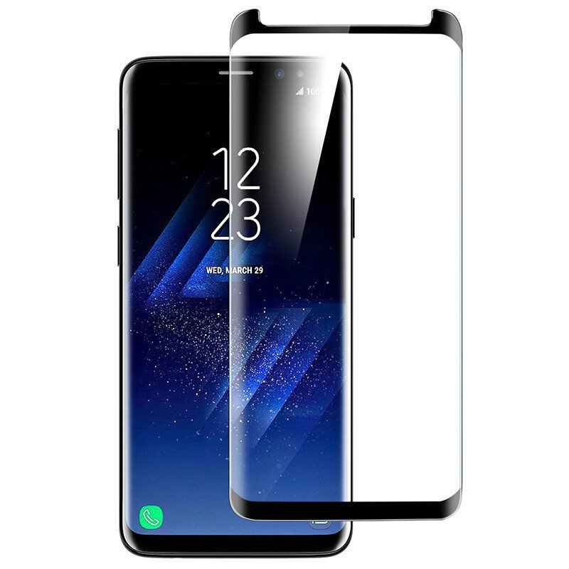 Dr Vaku 174 Samsung Galaxy S9 Plus 3d Curved Edge Full Screen Tempered Glass Screen Guards India