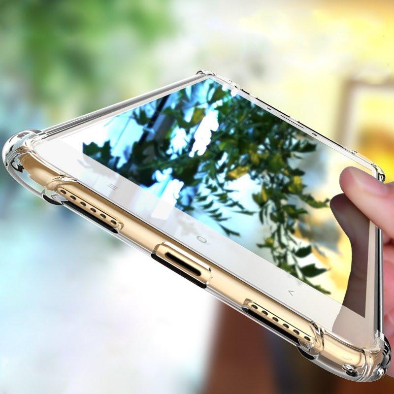 reputable site e5f7c 6a358 Vaku ® Xiaomi Redmi 3S PureView Series Anti-Drop 4-Corner 360° Protection  Full Transparent TPU Back Cover Transparent
