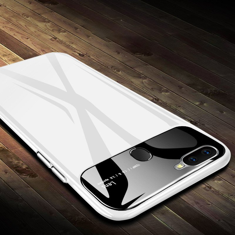 detailed look 74932 5153c Vaku ® Oppo Realme 2 PRO Polarized Glass Glossy Edition PC 4 Frames +  Ultra-Thin Case Back Cover