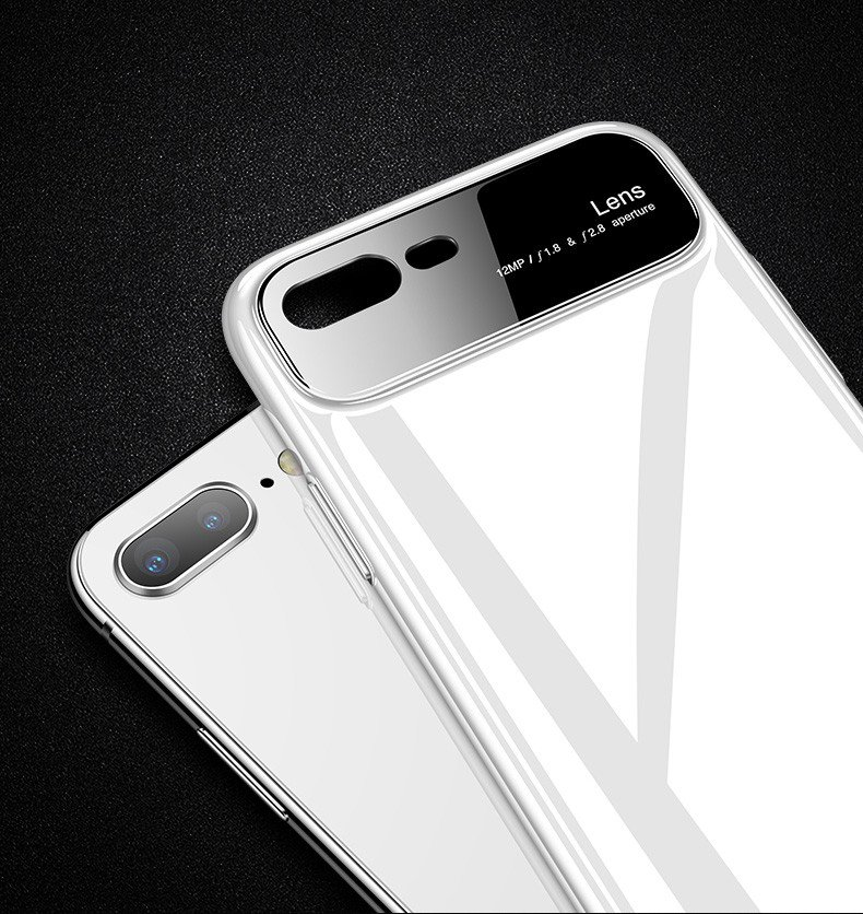 buy online 09c2b 9f3f8 Vaku ® Oppo A3s Polarized Glass Glossy Edition PC 4 Frames + Ultra-Thin  Case Back Cover