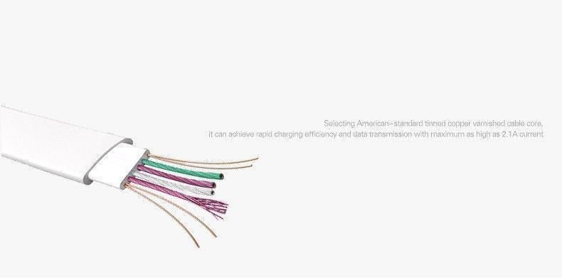 rock  u00ae inbuilt led indicator auto-disconnect apple lightning port charging    data cable