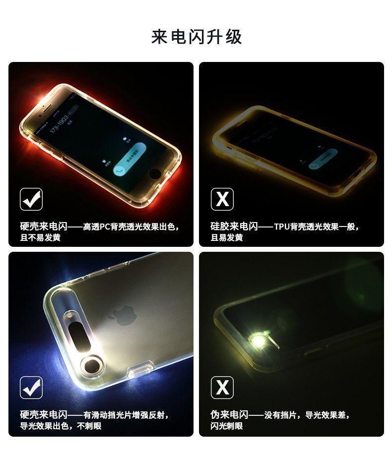 FashionCASE ® Samsung Galaxy Note 4 LED Light Tube Flash Lightening Case  Back Cover