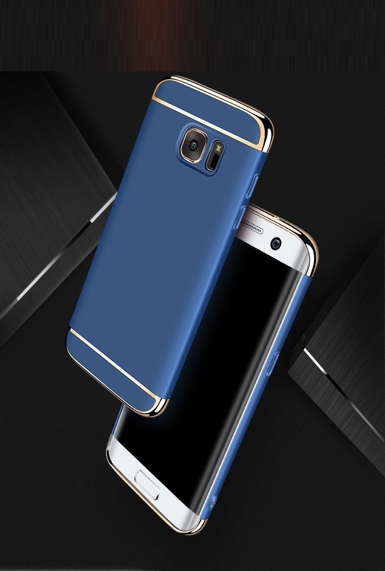 buy vaku samsung galaxy a7 2016 ling series ultra thin metal electroplating splicing pc back. Black Bedroom Furniture Sets. Home Design Ideas