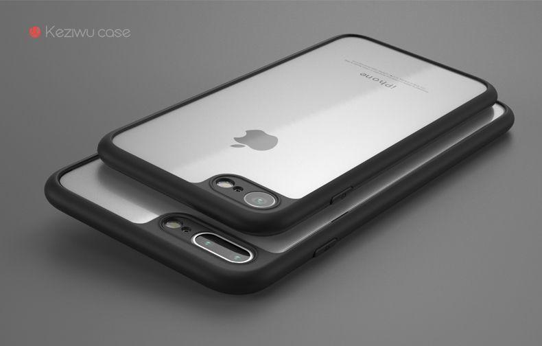 ad8f921cb7 Vaku ® Apple iPhone 5S   SE AMARINO Series Top Quality Soft Silicone 4  Frames plus ultra-thin case transparent cover