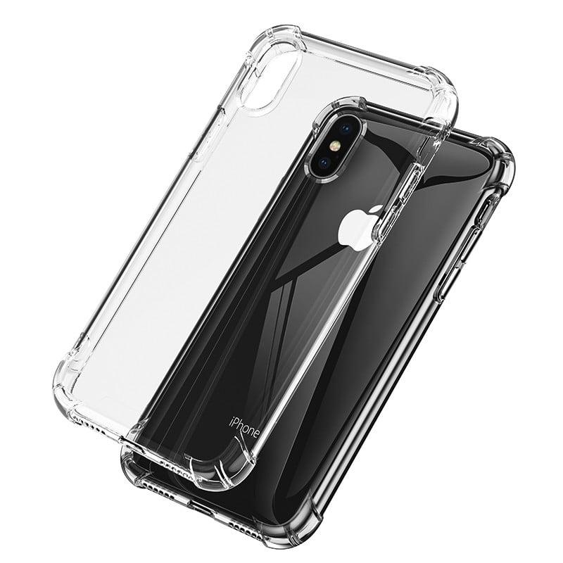 big sale e37d9 a996a Vaku ® Apple iPhone 7 Gorilla Glass Unbreakable PureView Series Anti-Drop  4-Corner 360° Protection Full Transparent TPE Back Cover