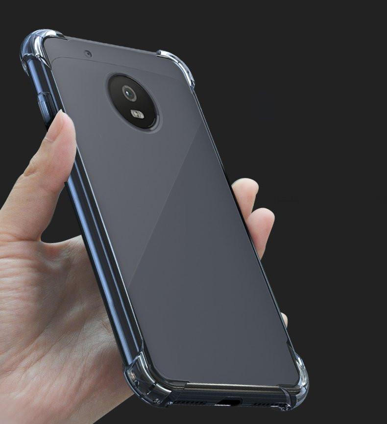 best service 84eff 612e7 Vaku ® Motorola G5 Plus PureView Series Anti-Drop 4-Corner 360° Protection  Full Transparent TPU Back Cover Transparent