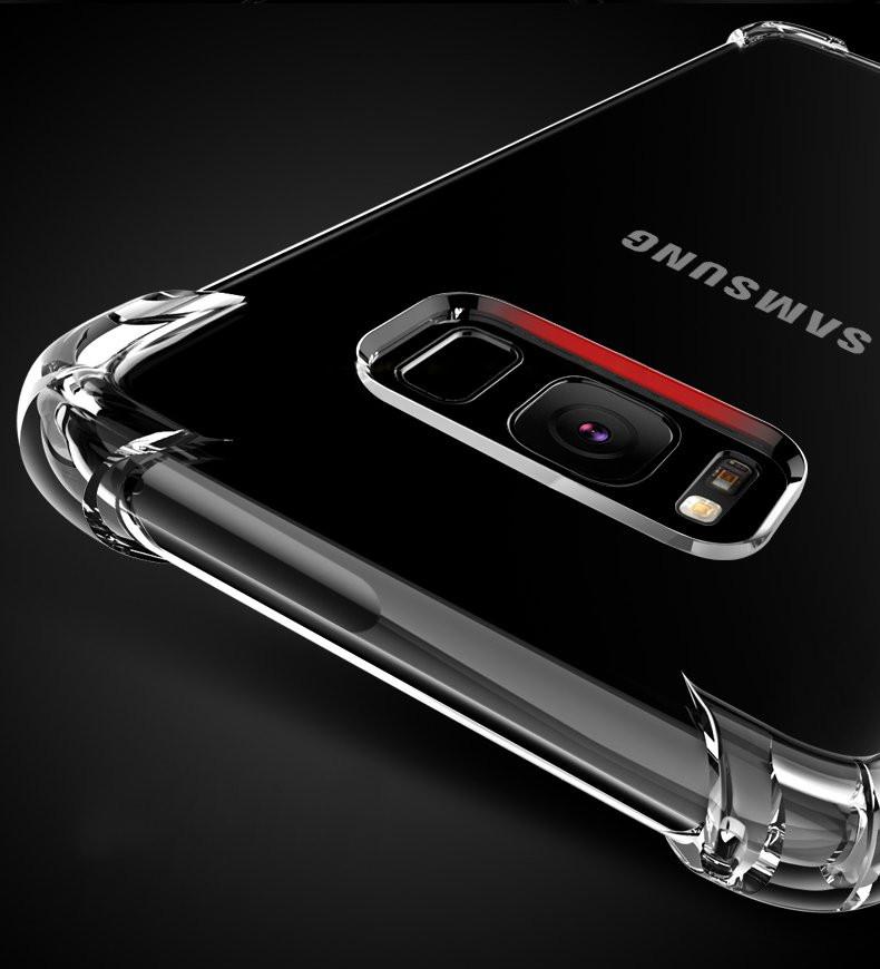 hot sale online 4d6be f80a1 Vaku ® Samsung Galaxy A5 (2016) PureView Series Anti-Drop 4-Corner 360°  Protection Full Transparent TPU Back Cover Transparent