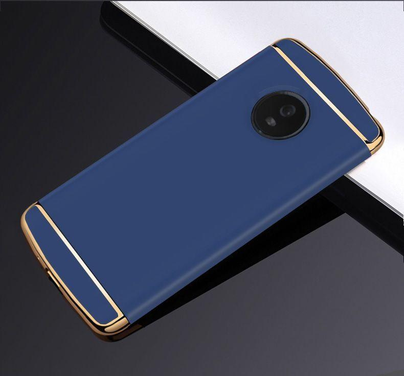 Vaku ® MOTO G5 Plus Ling Series Ultra-thin Metal ...
