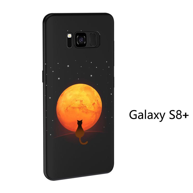 sale retailer 2f27a 48fb9 VAKU ® Samsung Galaxy S8 Plus NFC Wireless LED Light Illuminated 3D  Designer Case Back Cover