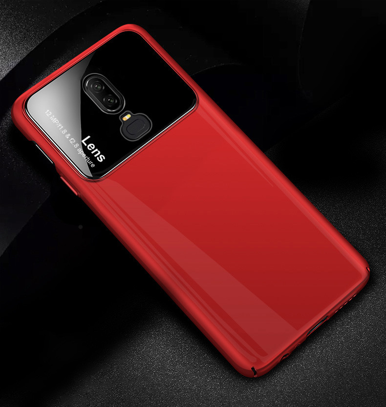 new style 752cc 23214 Vaku ® OnePlus 6 Polarized Glass Glossy Edition PC 4 Frames + Ultra-Thin  Case Back Cover