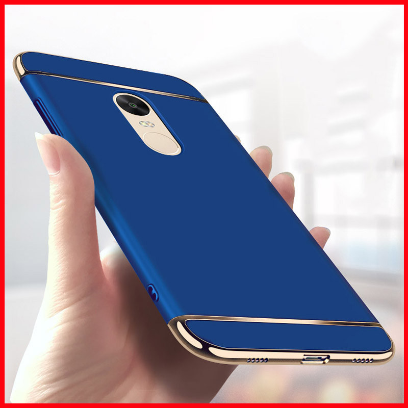 sale retailer 1abeb ede54 Vaku ® Xiaomi Redmi Note 5 Ling Series Ultra-thin Metal Electroplating  Splicing PC Back Cover