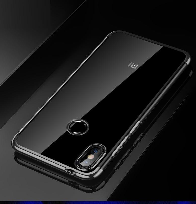 pretty nice 859b4 e00fb Vaku ® Xiaomi Redmi Note 5 Pro CAUSEWAY Series Electroplated Shine Bumper  Finish Full-View Display + Ultra-thin Transparent Back Cover