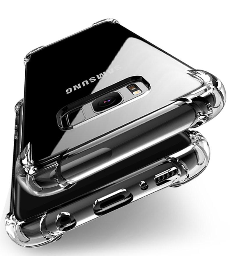 Vaku ® Samsung Galaxy S7 Edge PureView Series Anti-Drop 4-Corner 360°  Protection Full Transparent TPU Back Cover Transparent