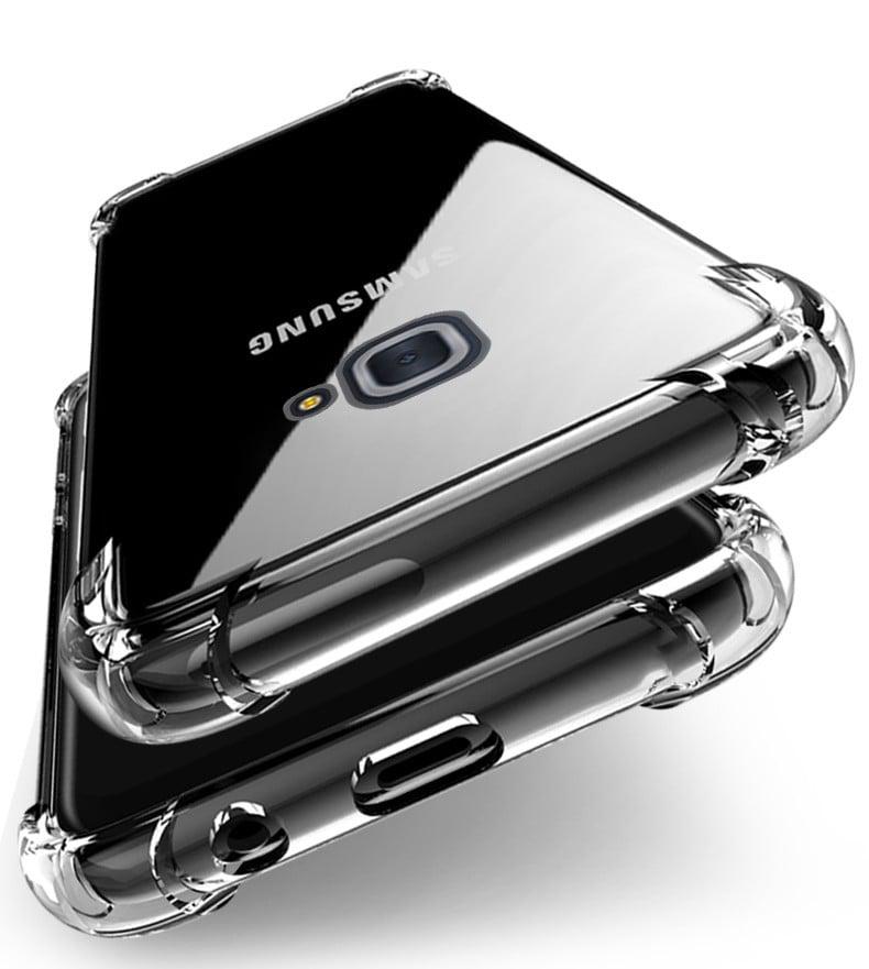 Vaku 174 Samsung Galaxy J7 Max Pureview Series Anti Drop 4 Corner 360 176 Protection Full Transparent