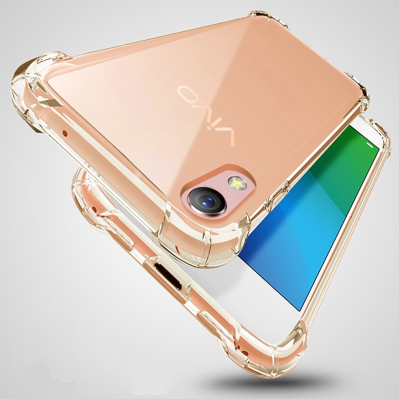 quality design 5609c 83307 Vaku ® Vivo Y51L PureView Series Anti-Drop 4-Corner 360° Protection Full  Transparent TPU Back Cover Transparent