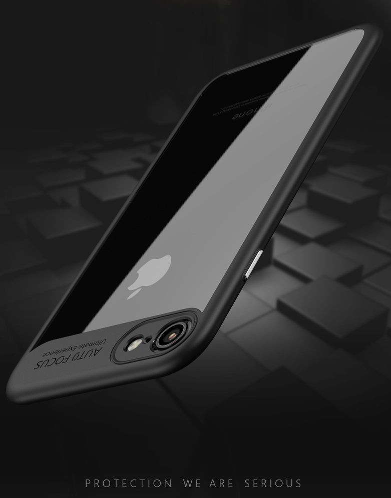 wholesale dealer b3595 80ad3 Vaku ® Apple iPhone 8 Plus Kowloon Series Top Quality Soft Silicone 4  Frames plus ultra-thin case transparent cover
