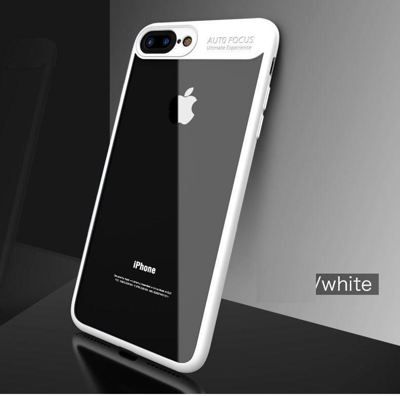 wholesale dealer 192e2 f1ec7 Vaku ® Apple iPhone 8 Plus Kowloon Series Top Quality Soft Silicone 4  Frames plus ultra-thin case transparent cover