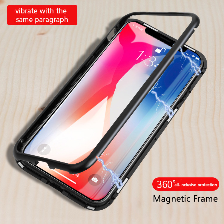 sneakers for cheap 228f4 c7e35 Vaku ® Apple iPhone 6 / 6S Electronic auto-fit Magnetic Wireless Edition  Metal Glass Ultra-Thin CLUB Series Back Cover