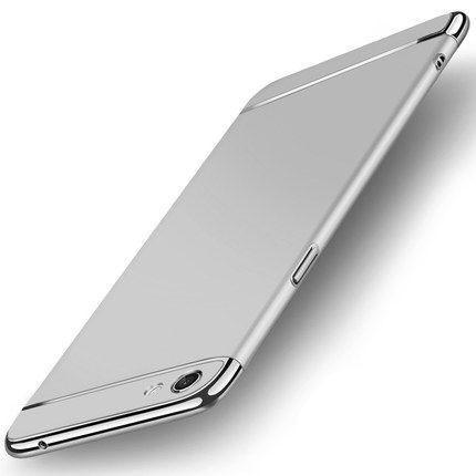 buy online dd91b ebd01 Vaku ® VIVO Y55S Ling Series Ultra-thin Metal Electroplating Splicing PC  Back Cover
