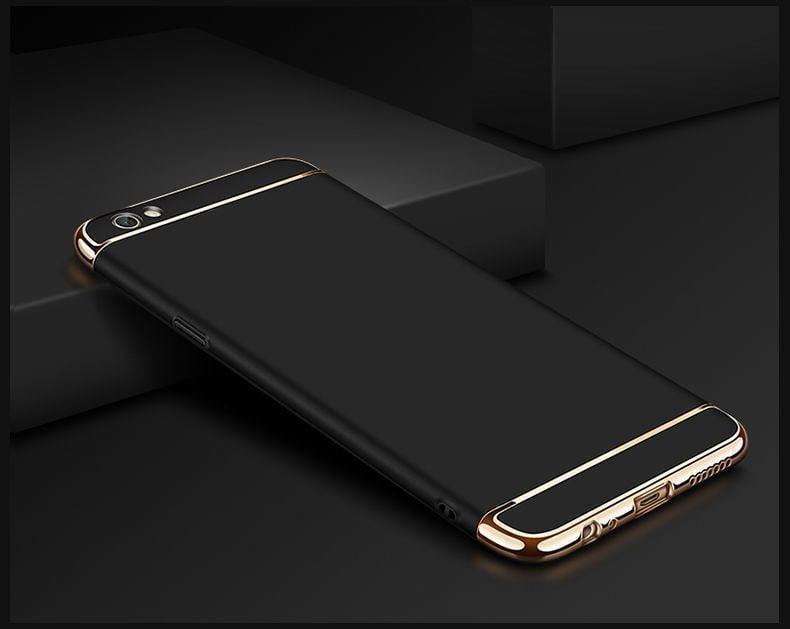 buy online 85fbb 16706 Vaku ® VIVO Y55S Ling Series Ultra-thin Metal Electroplating Splicing PC  Back Cover