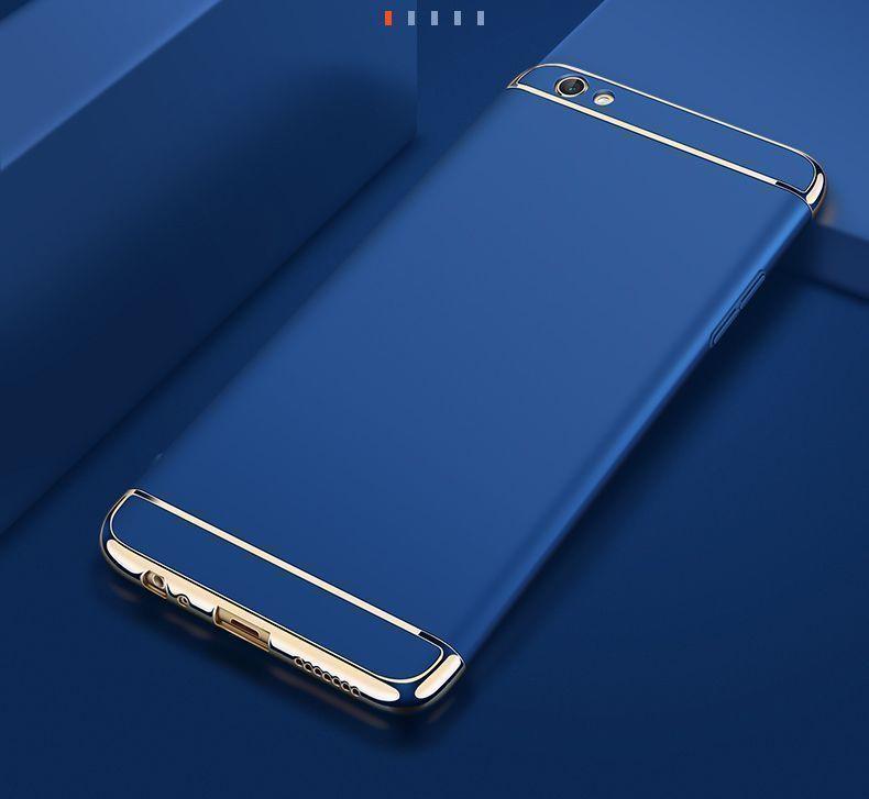 brand new 44998 a24ec Vaku ® VIVO Y55L/Y55S Ling Series Ultra-thin Metal Electroplating Splicing  PC Back Cover