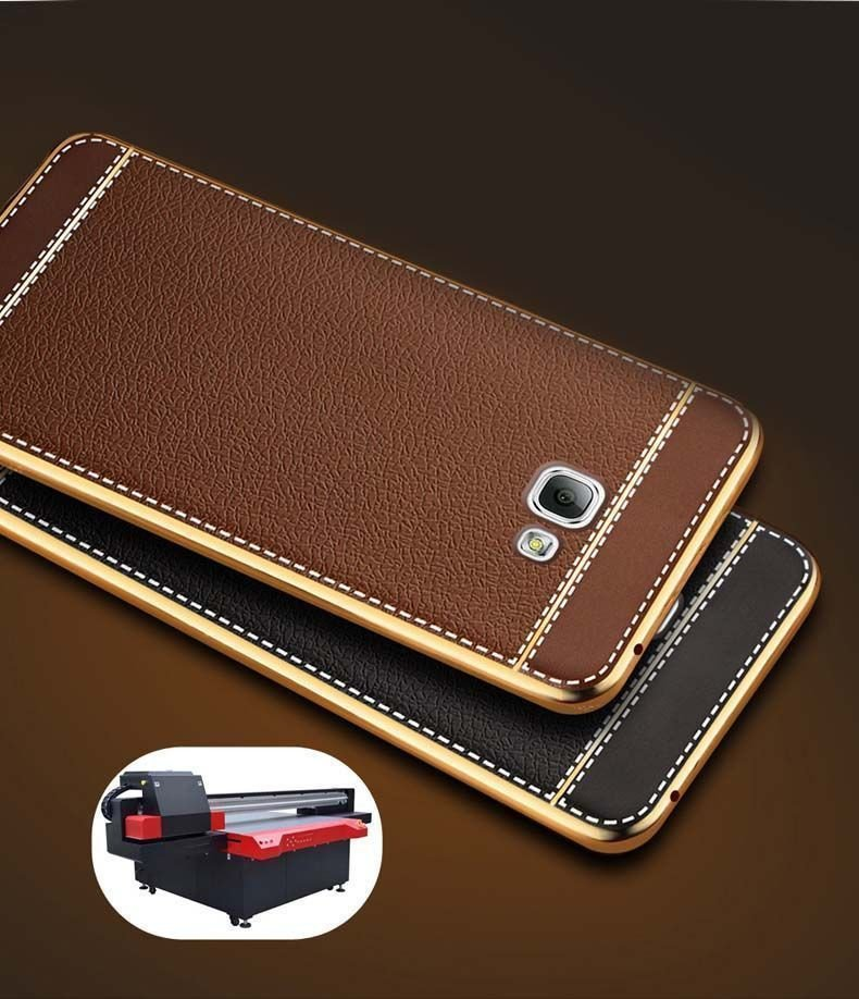 vaku samsung j7 prime leather stiched gold electroplated soft tpu back cover screen guards india. Black Bedroom Furniture Sets. Home Design Ideas