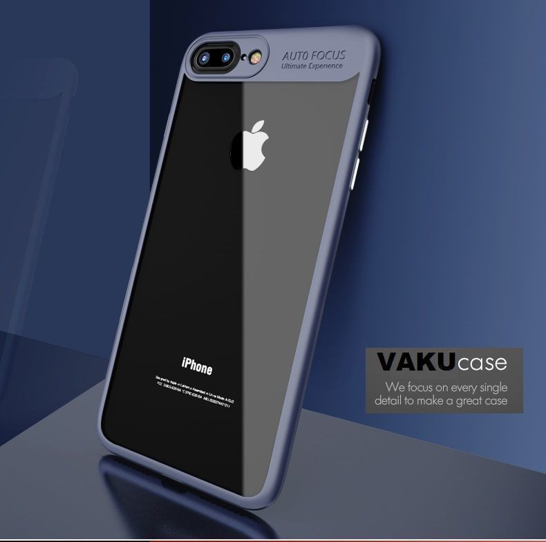 Vaku R Apple IPhone 5 5S SE Kowloon Series Top Quality Soft Silicone 4 Frames Plus Ultra Thin Case Transparent Cover