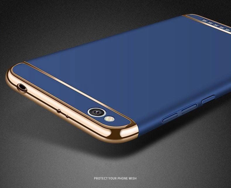 Vaku 174 Xiaomi Redmi 5a Ling Series Ultra Thin Metal Electroplating Splicing Pc Back Cover
