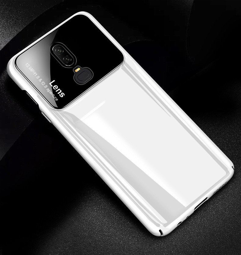 new style efd0b 63724 Vaku ® OnePlus 6 Polarized Glass Glossy Edition PC 4 Frames + Ultra-Thin  Case Back Cover