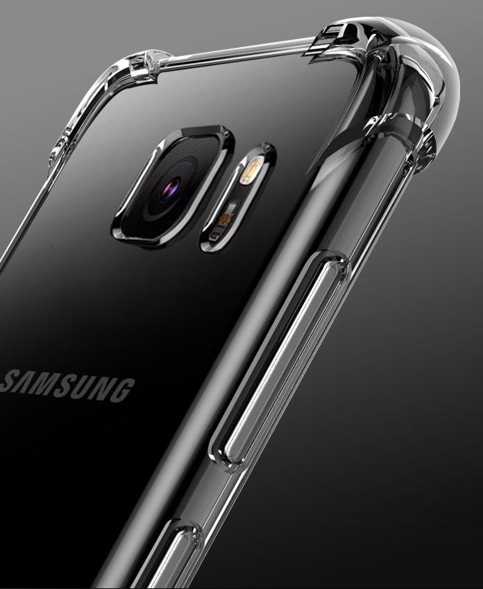 the latest b89fe 3b9d4 Vaku ® Samsung Galaxy C9 Pro PureView Series Anti-Drop 4-Corner 360°  Protection Full Transparent TPU Back Cover Transparent