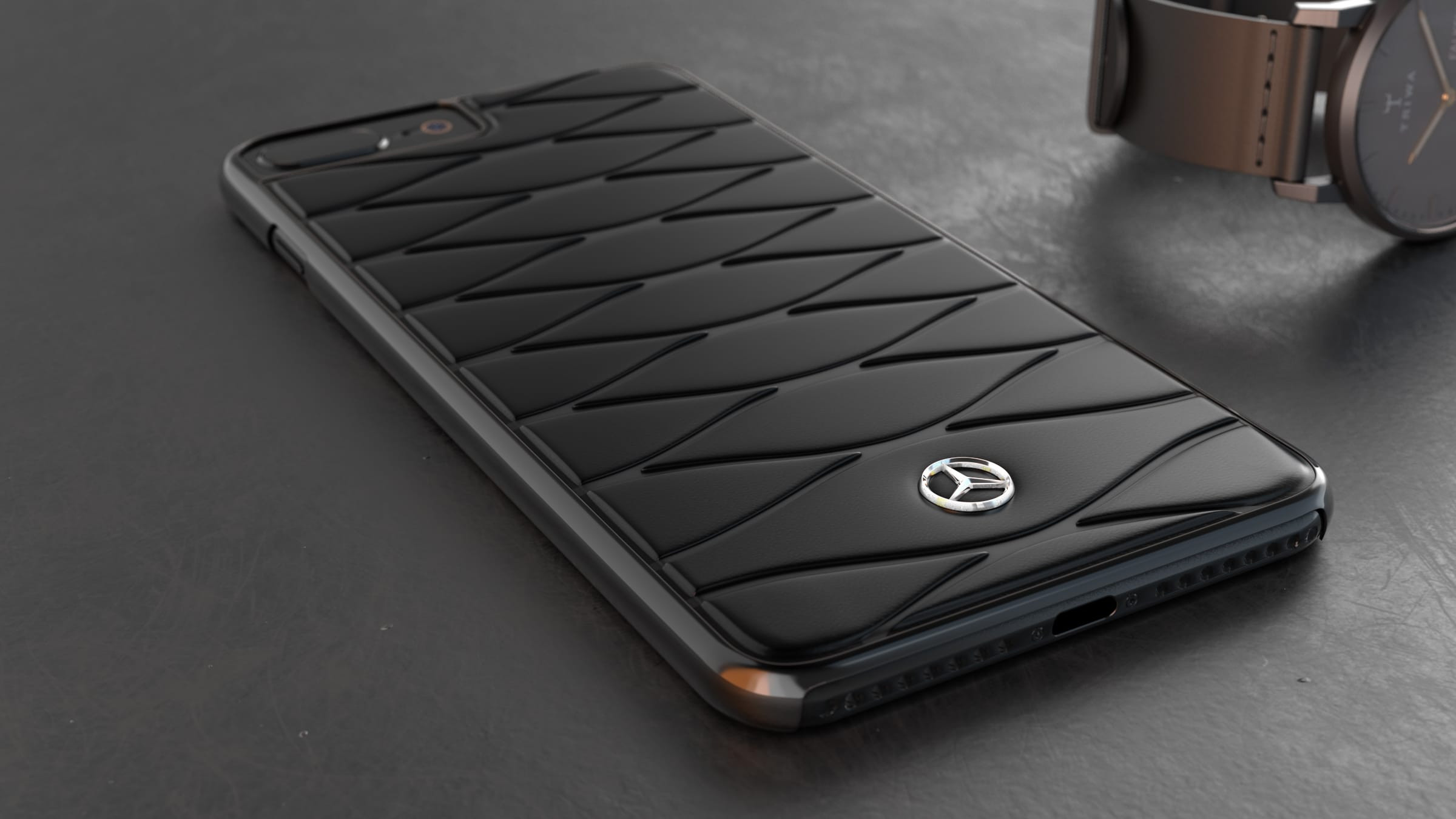 Mercedes benz apple iphone 7 8 superaza luxurious for Www mercedes benz mobile com iphone